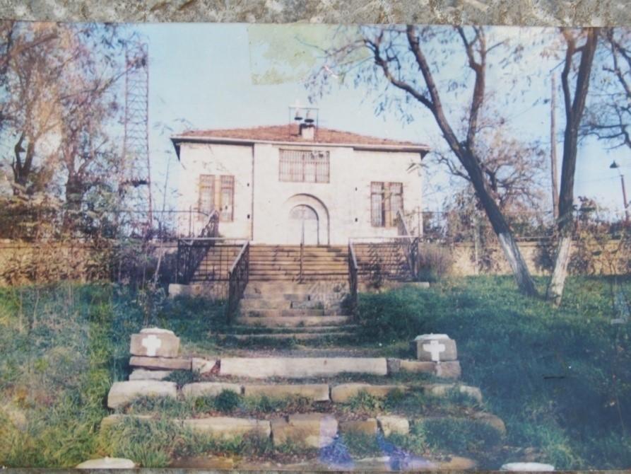 foto 79 Kisha Orthodokse e Profetit Ilia (Shëndëllia)–qyteti Korcë pamje e vitit 1908